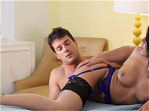 Adriana Chechik gets her ass-hole stuffed hard