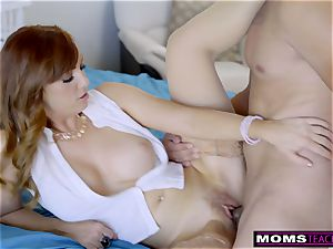 steamy cougar Caught daughter porking StepSon S8:E1