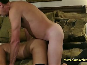 Ms Paris Rose in hard-core pounding