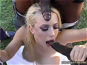 Bunny Kagney Linn Karter gang-fucked
