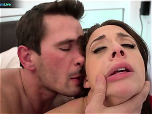 horny honey Chanel Preston rough assfucking session