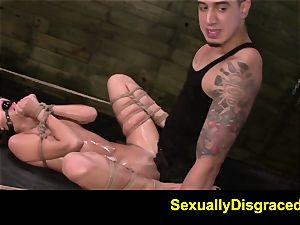 FetishNetwork Esmi Lee marionette dual penetration