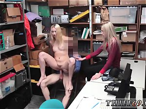 Caught by his mom A mother and compeer s daughter who have been caught shoplifting before