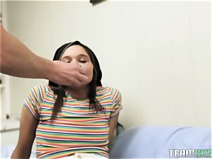 Exxxtra petite Zoe Bloom pummeled by mischievous draped student