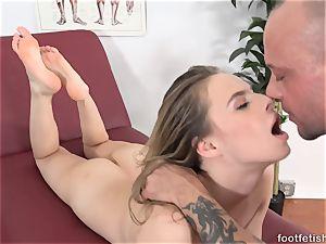 Jillian Janson loves Her soles Worshiped