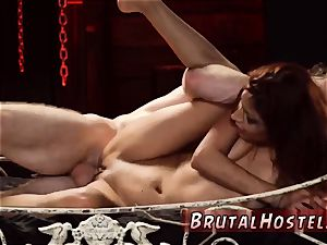strap bondage and tough outdoor Her sexual humiliation continues as he trusses her lil' gams