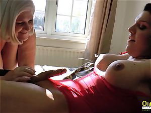 OldNannY Lacey Starr and crazy t-girl activity