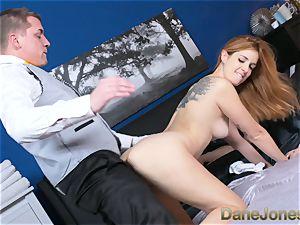 Dane Jones ultra-kinky wifey drilled by apartment service