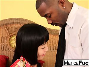 Geisha Marica takes a bbc and a ginormous load