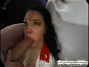 please Nurse deep-throat my monster wood - German Goo femmes