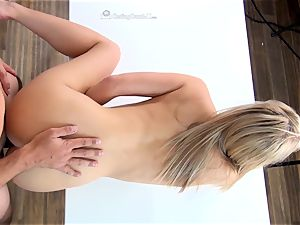 Bailey Brooks pummeling to get in the porno idustry