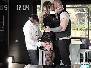 magnificent lingerie stunner Anna Polina gets torn up