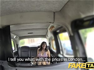 fake taxi fantastic cougar with ample boobies does anal invasion