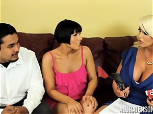 Alura Jenson gets a bit wild and embarks to slap