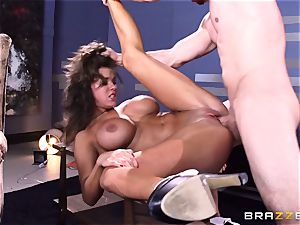 Peta Jensen gives her client some serious orgy therapy