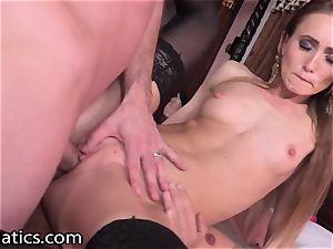 DPFanatics Ukrainian Kira Parvati enjoys it in two fuck holes