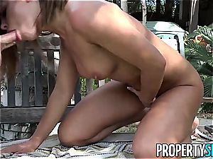 unbelievable stunner makes her instructor splat his cum on his face