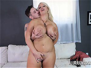thick breast milf Alura Jenson loves plumbing junior studs