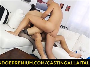 casting ALLA ITALIANA - sizzling mummy has dual buttfuck joy