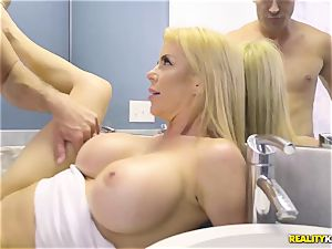 epic orgy with super-naughty yam-sized tits milf Alexis Fawx and her stepson