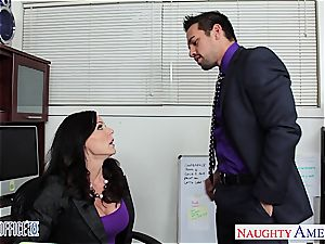 naughty Kendra zeal works her way up the corporate ladder