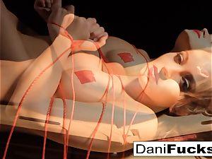 Dani Daniels Has A fun kinky Side As She Gets tied Up