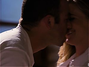 Mona Wales has a romantic enjoy session with her uber-sexy dude