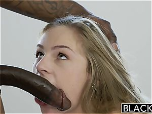luxurious Sydney Cole well-prepped to fit his black manstick inside her