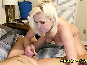 Ms Paris Rose in pee have fun make-out