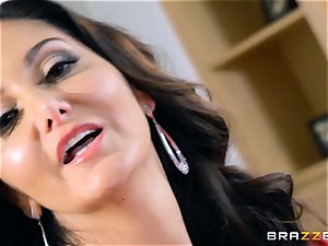 Ava Addams plumbed in her warm cooch