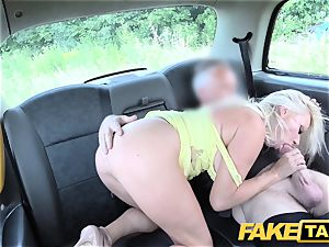 fake taxi fat boobies blonde Michelle Thorne