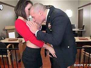 offender chesty wifey has messy hookup with the prosecutor in the courtroom