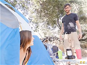 cumswap camping hotties Karlee Grey and Jojo smooch