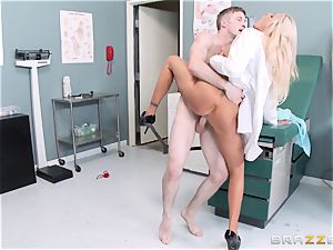 giant blasted doc Nina Elle seduces her favourite patient