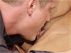 killer cougar Kayla Carrera is hungry for fresh meat