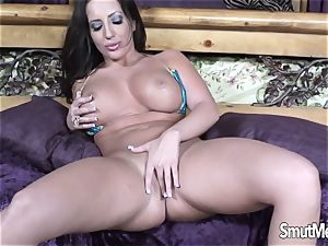 hot Blooded cougar Blows and pummels a giant stiffy