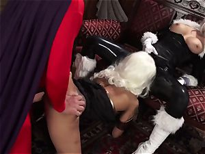 Vivid.com - trio supah Villains have a ultra-kinky three way