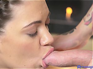 pigtailed ultra-cutie plowed by the intense masseur