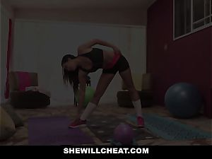 SheWillCheat hotwife gf Karlee Grey boinks Trainer