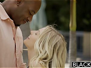BLACKED very first multiracial 4some for luxurious Blondes Karla Kush and Jillian Janson