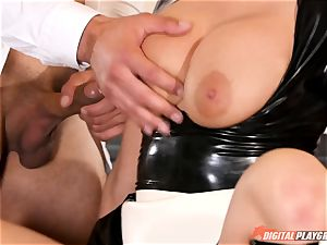 labia hammering the ultra-kinky hump slave maid Britney Amber