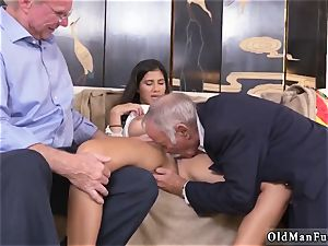 two senior and blondie chick nail first time Going South Of The Border