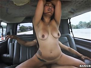 asian babe picked up and pounded