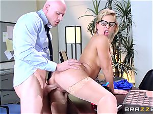 Cherie Deville sacks people the hottest way she can