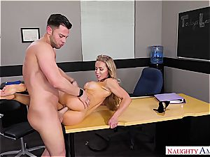 The finest educator Nicole Aniston wants spunk-pump for her blessing