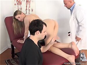 Jillian Gets torn up By Real man in Front of husband